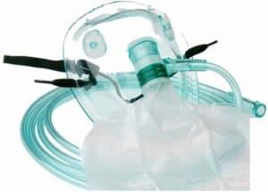 Sauerstoffmaske mit Reservoirbeutel