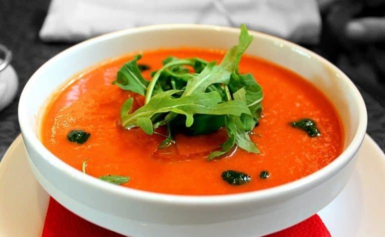 Tomatensuppe mit Maca