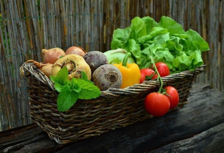 Gemüse in Korb