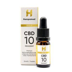 Hempamed Gold CBD Öl (10%)
