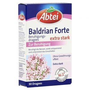 ABTEI Baldrian Forte (Beruhigungsdragees)