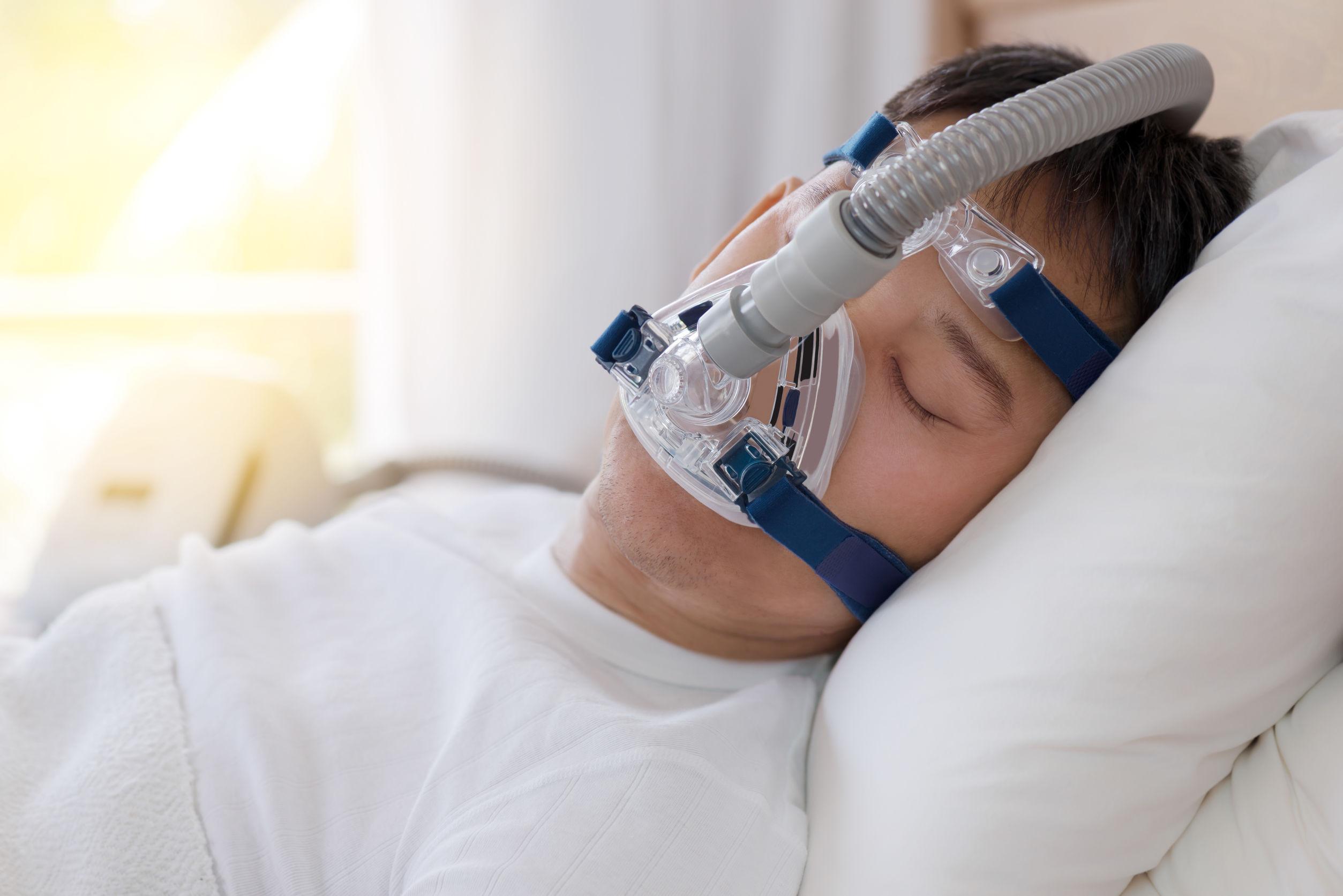 Schlafapnoe Maske