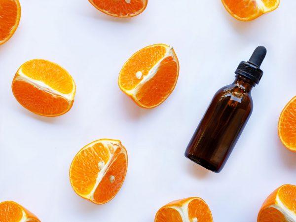Essential oil with orange