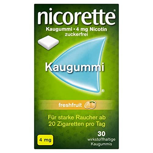 Nicorette 4 mg freshfruit Kaugummi, 30 St.