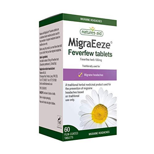 Natures Aid MigraEeze 100mg (Feverfew) 60Tabletteten