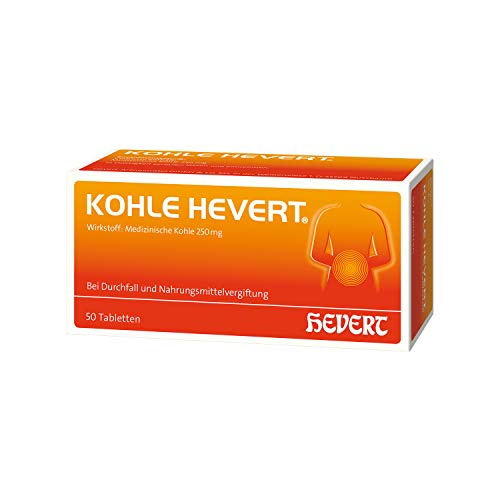 Kohle Hevert Tabletten, 50 St. Tabletten