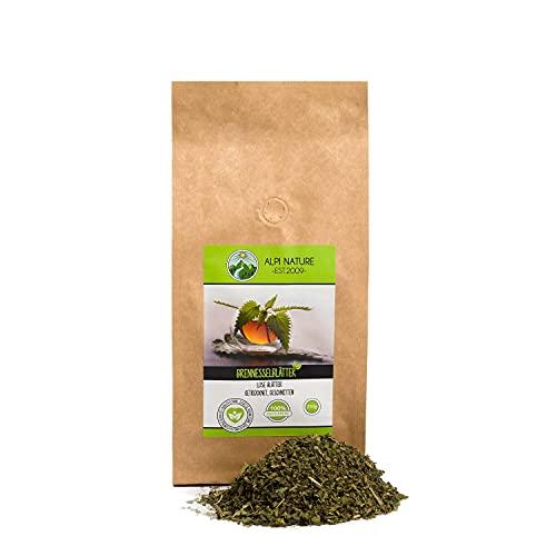 Brennesseltee (250g), Brennnesselblätter, 100% natürlicher Brennnessel Tee, Kräutertee lose, geschnitten, natürliche Brennessel zum entwässern, geeignet zum Kochen, reich an Inhaltsstoffen