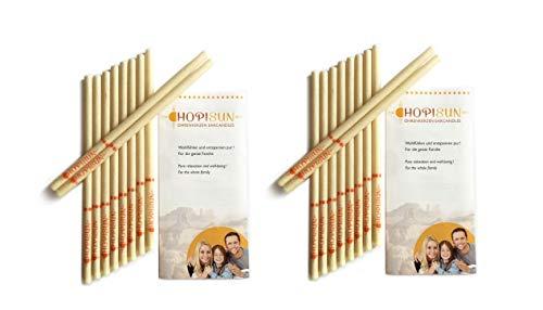 HOPISUN Ohrkerzen - 20 Stück - mit Filter