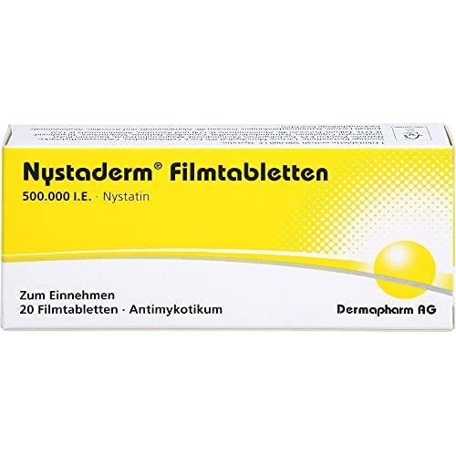 Nystaderm Filmtabletten Antimykotikum, 20 St. Tabletten