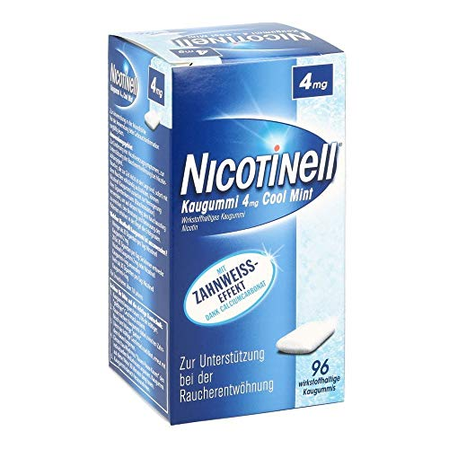 NICOTINELL Kaugummi Cool Mint 4 mg 96 St Kaugummi